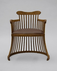 Lobster trap chair by Nick Moore