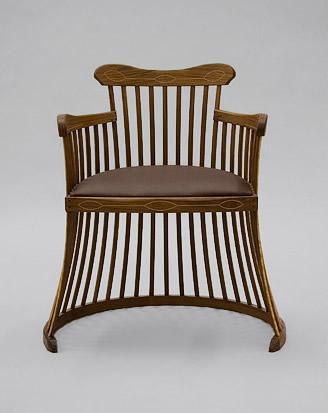 Lobster trap chair