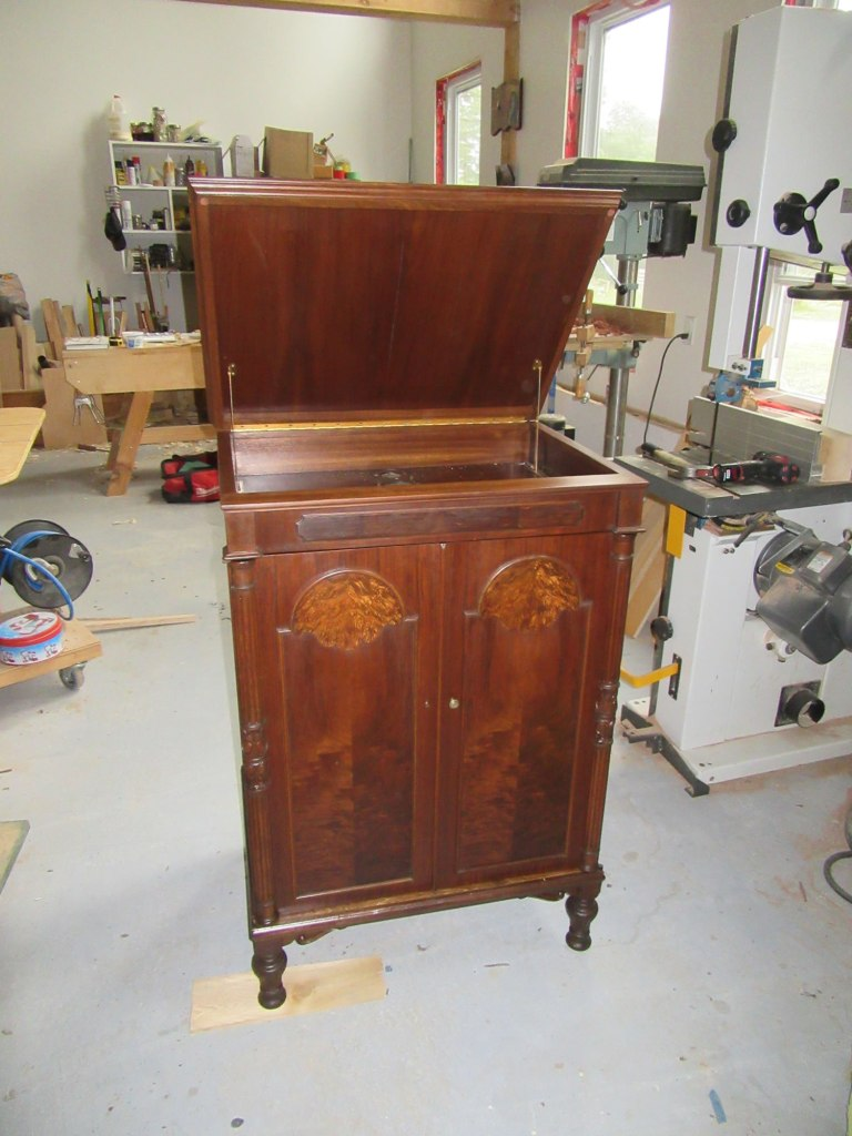 Victrola after full restoration
