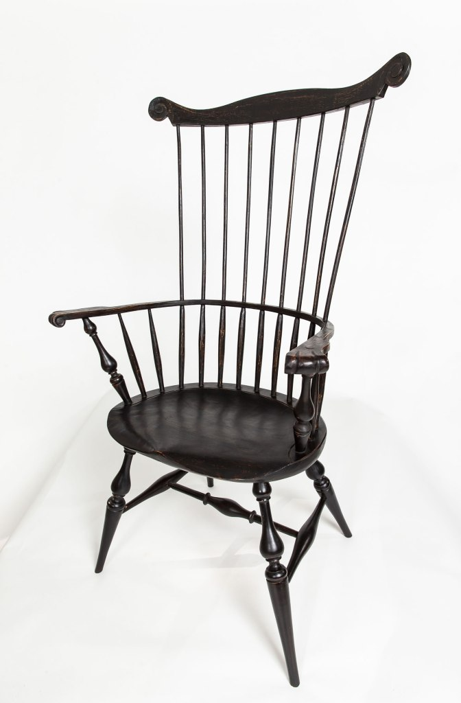 Tall backed Windsor chair